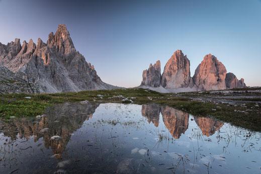 Naturfotografie, Reisen, Polarlichter, 3 Zinnen, Patagonien
