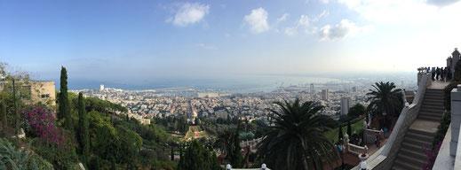 Die Hafenstadt Haifa