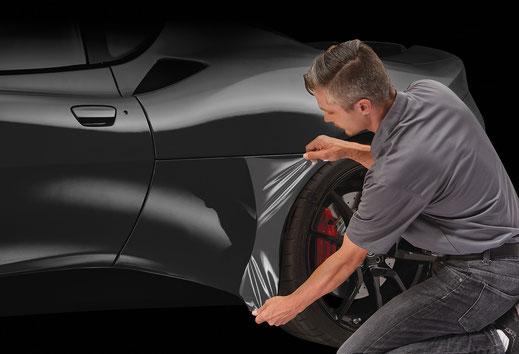 Lackschutzfolien für Fahrzeuge