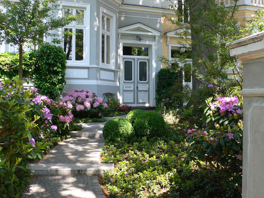 Garten Jugendstil mauern und treppen scharnweber garten und landschaftsbau