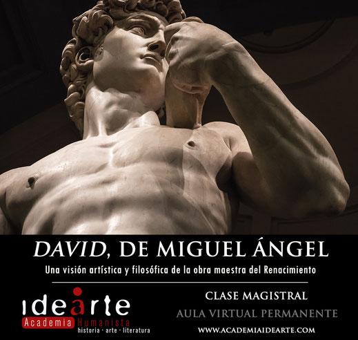 David; Miguel Ángel; arte; Renacimiento; clase on Line; masterclass; Florencia;