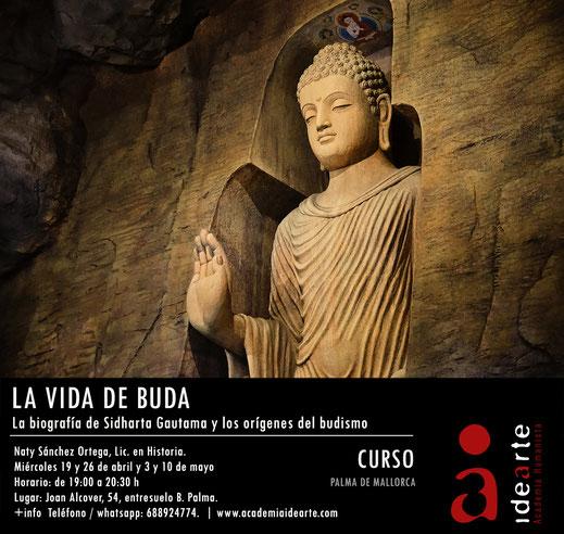 Buda; Budismo; cursos; Barcelona; filosofía oriental; vida de Sidharta; Sermón de Benarés;