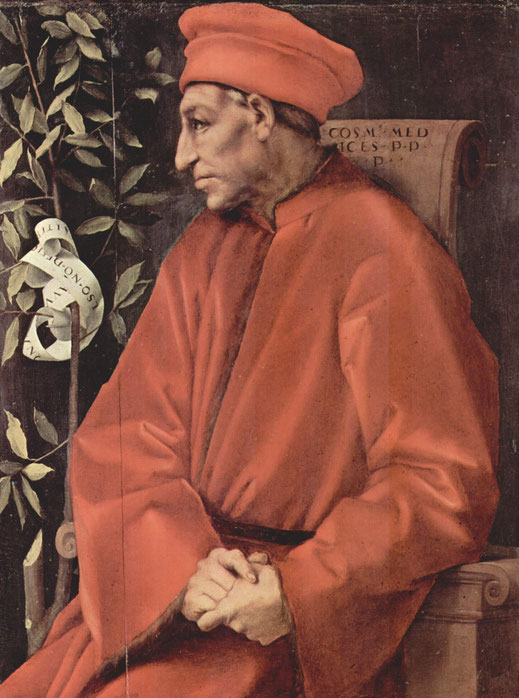 Cosme de Médici; Florencia; Italia; Renacimiento; Donatello; duomo de Florencia; cursos; Naty Sánchez Ortega;