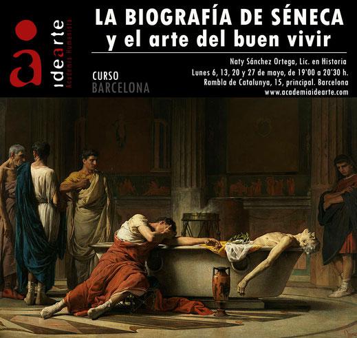 Séneca; estoicismo; filosofía; Roma; historia antigua; cursos; Barcelona; Palma de Mallorca; Academia Idearte;