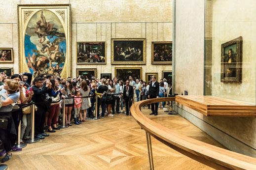 Louvre; Gioconda; Monna Lisa; Leonardo; museos; cursos;