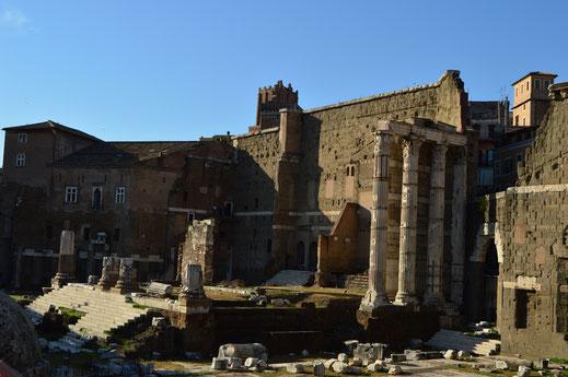 Marte; templo; foro; Augusto; Roma; Séneca;