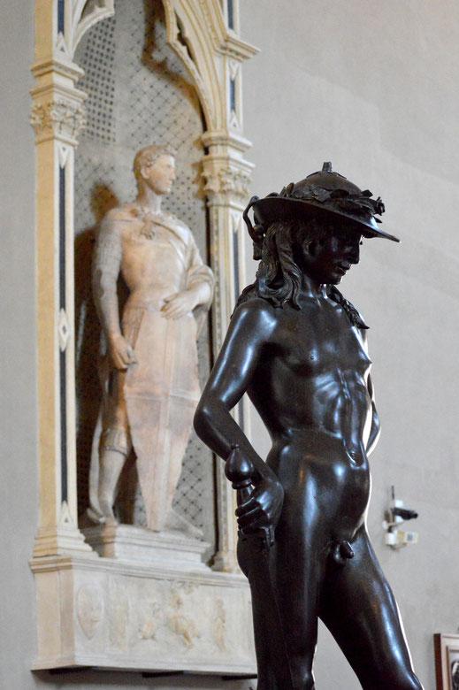 San Jorge; David; Donatello; Florencia; Bargello; Renacimiento; Escultura; cursos;