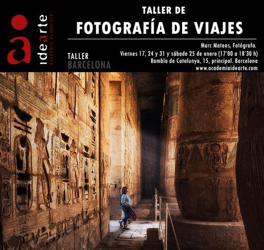 taller de fotografía; Barcelona; viajes; hacer fotos en tus viajes;