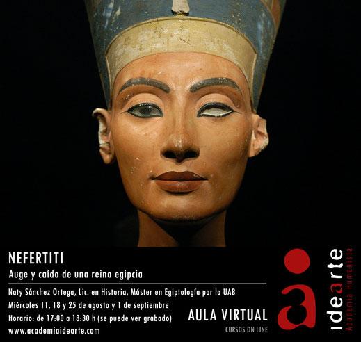 Amarna; Nefertiti; Akhenaton; Meritatón; Ankhesenamón; Tiyi; Kiya; cursos; egipto;