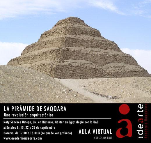 Pirámide de Saqqara; Egipto; escalonada; cursos; Egiptología; Palma de Mallorca;