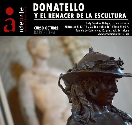 Donatello; curso temático; David; Bargello; Florencia; arte; cursos; Palma de Mallorca;