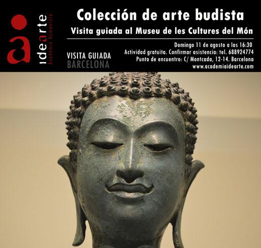 arte budista; Museu de les cultures del món; Barcelona; visita guiada; Buda; budismo;