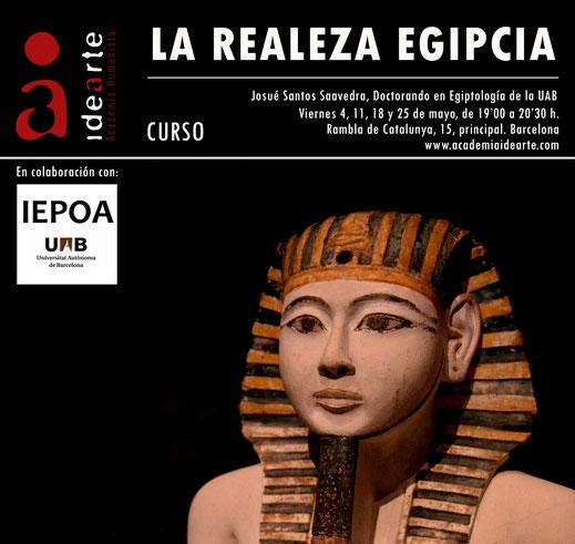faraón; rey egipcio; Egipto; realeza egipcia; egiptología; cursos;