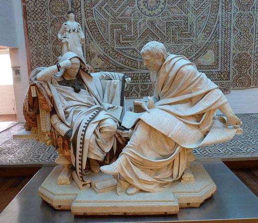 Nerón; Séneca; Roma; emperador; filósofo; historia antigua;