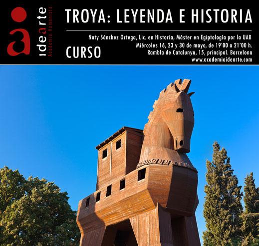 Troya, Schliemann; Homero; La Ilíada; La Odisea; Tesoro de Príamo; Caballo de Troya;