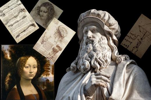 Leonardo da Vinci; pintor; escultor; arquitecto; cuadernos; arte; ciencia; Renacimiento;