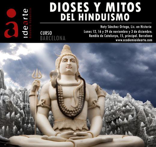 cursos sobre hinduismo; La India; dioses de la India; cursos Barcelona; Shiva; Brahma; Vishnu; Palma de Mallorca;