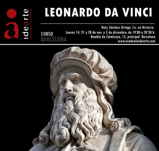 Leonardo da Vinci; cursos; Renacimiento; Barcelona; arte; historia;