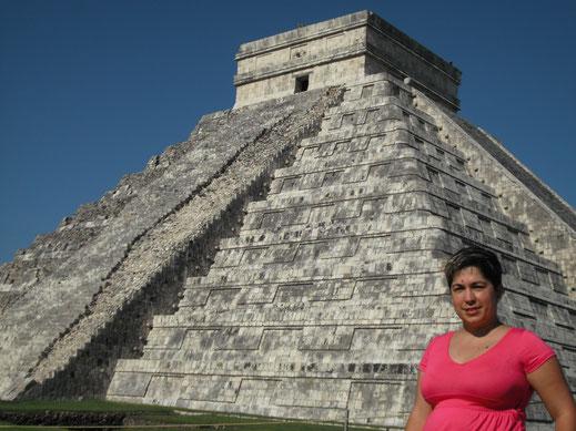 Castillo; Chichén Itza; México; Naty Sánchez; arquitectura sagrada;