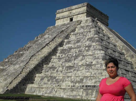 Castillo; Chichén Itza; México; Naty Sánchez Ortega; arquitectura sagrada;
