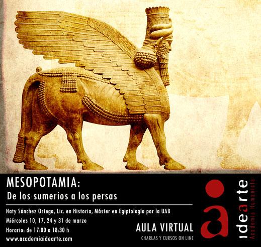 Mesopotamia; Sumerios; acadios; Babilonia; caldeos; asirios; persas; Cursos; Palma de Mallorca;