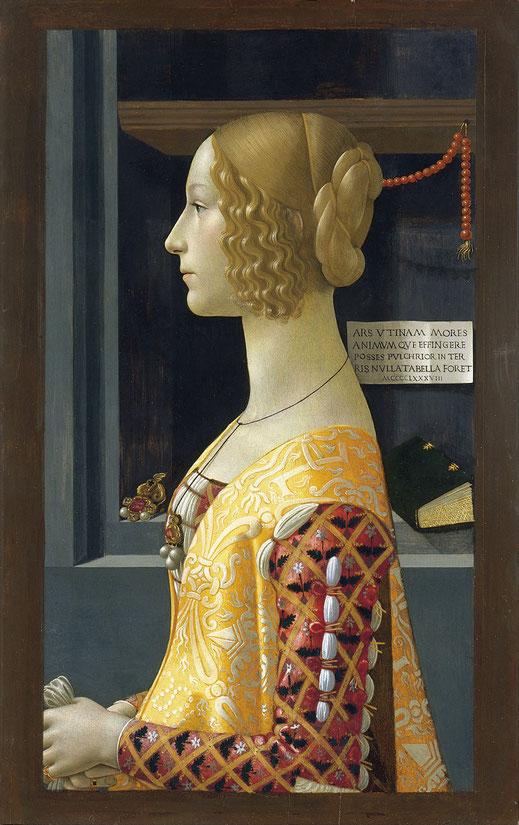 Retrato de Giovanna Tornabuoni.