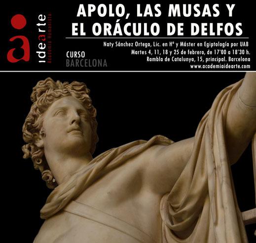 Apolo; Grecia; mitología; oráculo; Delfos; Musas; Academia Idearte;