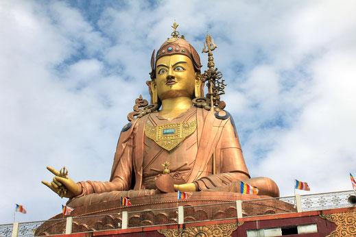Padmasambhava; guru rimpoche; budismo tibetano; Tíbet; Trisong Detsen; monasterio de Samye;