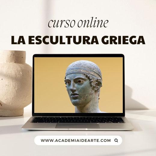 Escultura; arte griego; Grecia; arte clásico; Barcelona; Naty Sánchez Ortega; Academia Humanista Idearte