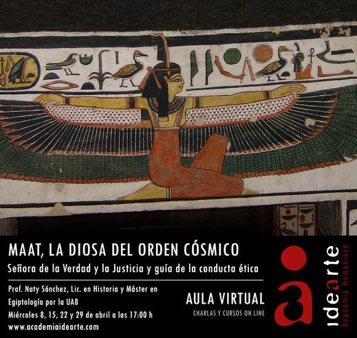 Maat; Egipto; Egiptología; Palma de Mallorca; historia de las religiones;