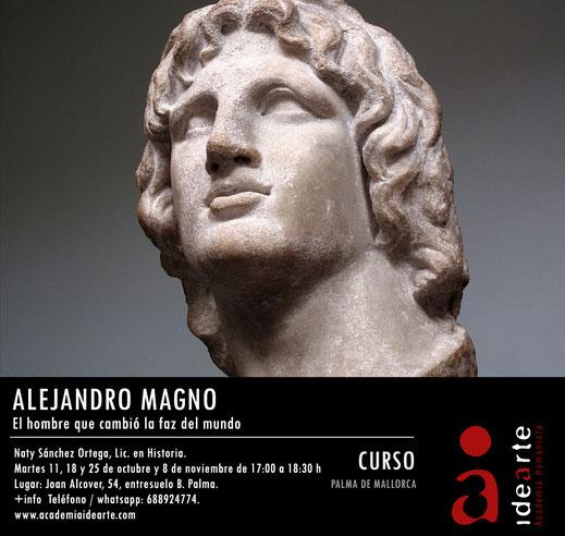 cursos de verano; Barcelona; Alejandro Magno; Grecia; historia; arte; filosofía;
