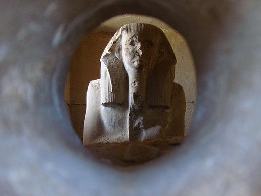 serdab; estatua del ka; Djeser; Egipto; Saqqara; egiptología; cursos; Palma de Mallorca;