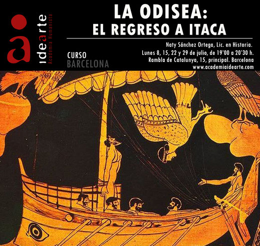 cursos de verano; Barcelona; La Odisea; Homero; sirenas; Grecia; literatura;