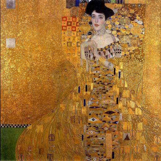 Gustav Klimt; Adele Bloch-Bauer I; arte; pintura; cursos de arte;