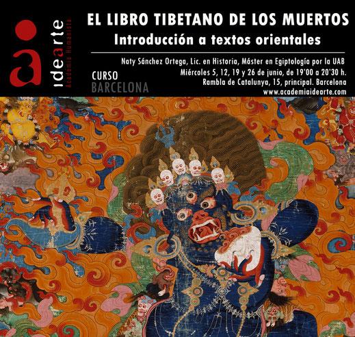 Bardo Thodol; libro tibetano de los muertos; curso; Barcelona;