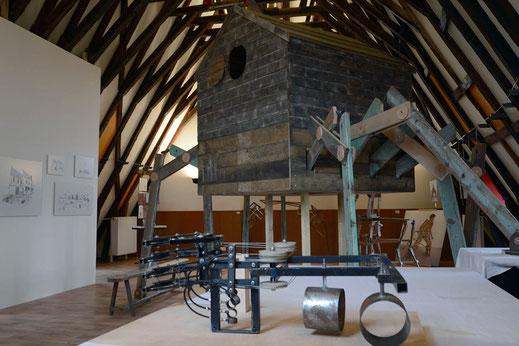 Jonathan Sitthiphonh David Magnou Habitat-sculpture