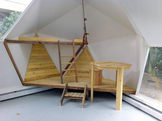 Installation Habitation Art David Magnou