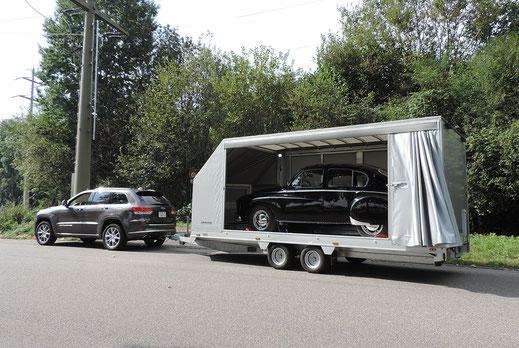 Stauffer AG Burgdorf - Dekofoto Fahrzeugtransporte