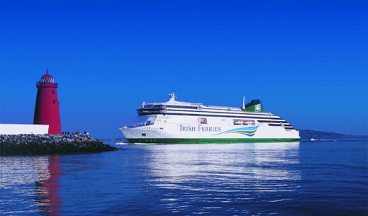 Carte postale du M/V Ulysses, photo : © Irish Ferries.