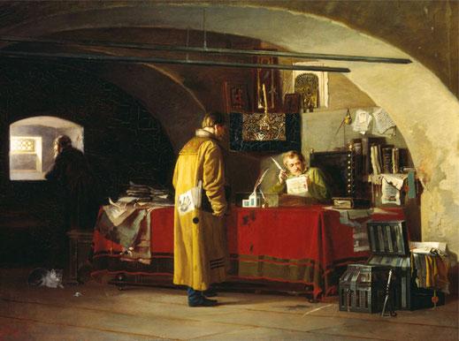 Янов Александр Степанович, Приказ в Москве