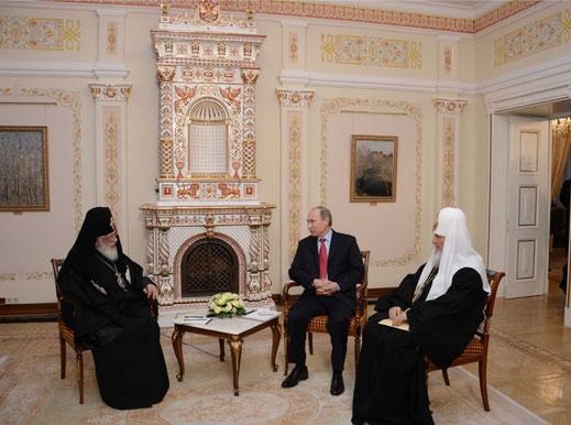 В 2009—2010 гг. при попечении председателя правительства РФ В. В. Путина в селе Усово был построен новый Спасский храм