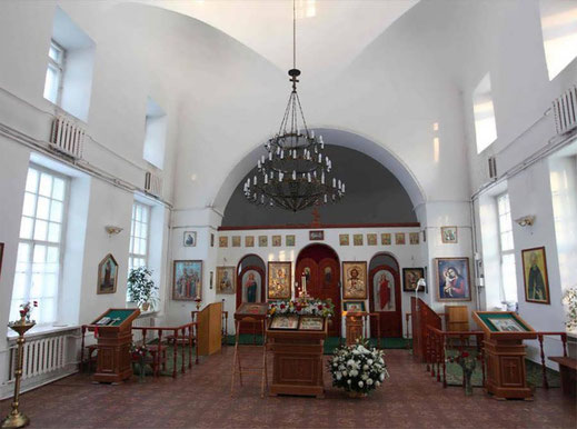 Ансамбль Троицкой церкви с колокольней