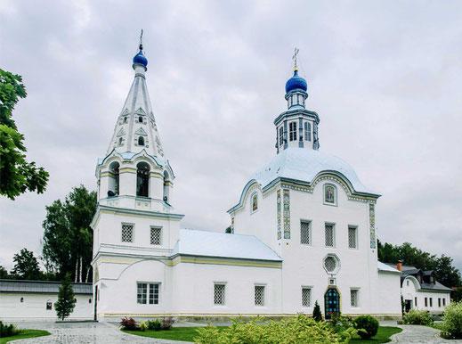 Раньше на этом месте существовала Воздвиженская церковь
