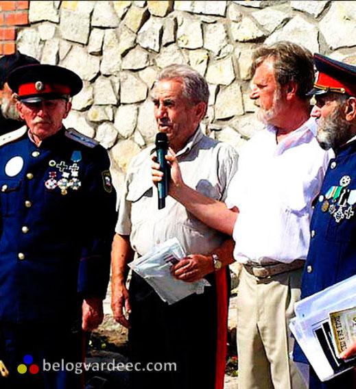 Донские казаки в борьбе с большевиками, ветераны 15 KKK