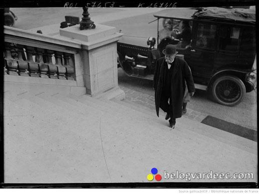 16.01.20 Джордж Клемансо прибывает в Верховный Совет.