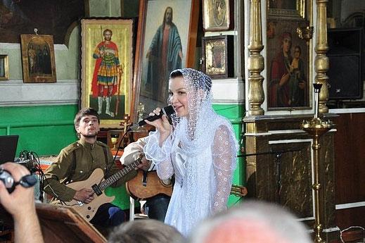 Новочеркасск, концерт в храме, памяти Николая II и его семьи.