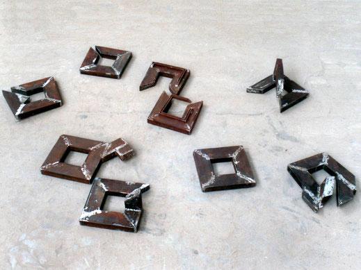 kleine Rahmen - 9 Stück