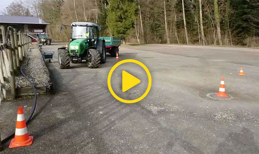 Fahrkurse G40 für die Traktorenprüfung