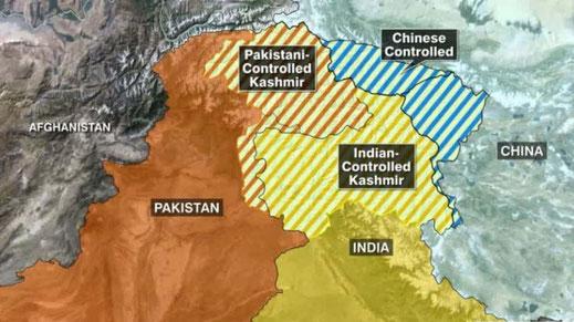 Free Kashmir - Sonder-Mahnwache für den Frieden
