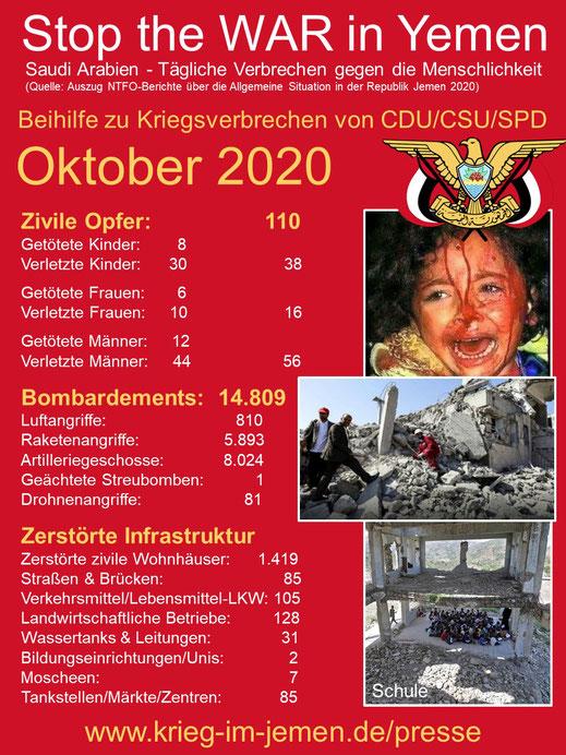 10-2020 - NTFO: Beihilfe zu Kriegsverbrechen von CDU/CSU und SPD